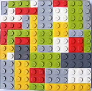 tissu lego