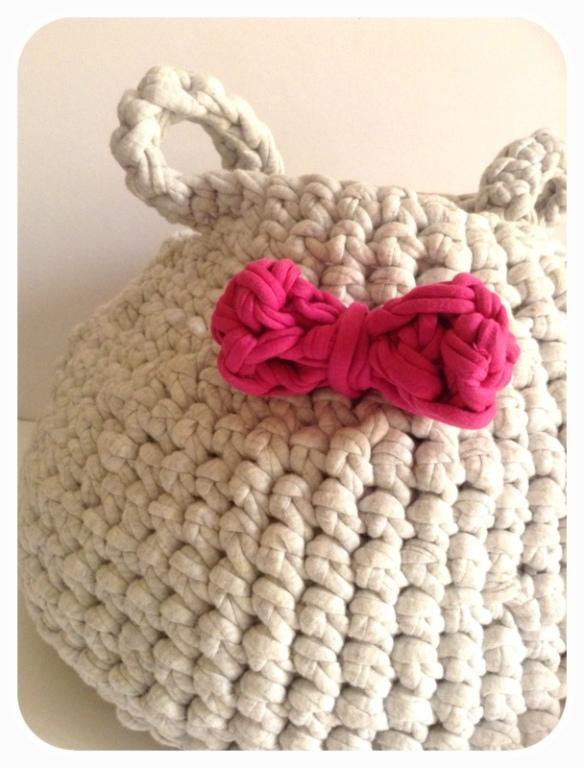 Panier crochet